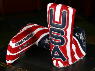 !★斯科蒂卡梅伦脑袋覆盖物2012 SCOTTY CAMERON 2012 RYDER CUP USA HEADCOVER 100052