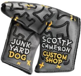 【即納】【あす楽対応】キャメロン ジャンクヤードドッグ グレー SCOTTY CAMERON 2018 CUSTOM SHOP JUNK YARD DOG HEADCOVER CHARCOAL