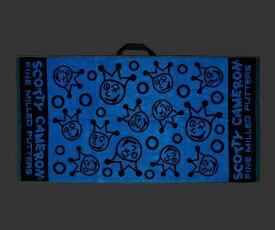 【即納】【あす楽対応】スコッティキャメロン ジャックポットジョニータオル ブルー SCOTTY CAMERON 2019 DANCING JACKPOT JOHNNY TOWEL BLUE BLACK 101418