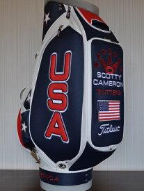 【即納】【あす楽対応】★スコッティキャメロン ライダーカップ USA スタッフバッグ SCOTTY CAMERON 2012年モデル RYDER CUP USA STAFF BAG 99981