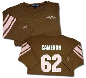 【即納】【あす楽対応】スコッティキャメロン スポーティガールTシャツ ブラウン L SCOTTY CAMERON 2006 SPORTY GIRL JERSEY BROWN 25630