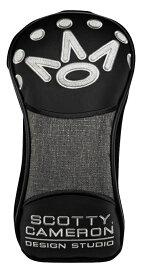 【即納】【あす楽対応】スコッティキャメロン 全英オープン ドライバーヘッドカバー CAMERON 2019 HEATHER GRAY DRIVER HEADCOVERS BLACK 102054