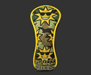 【即納】【あす楽対応】スコッティキャメロン サンシャインカモ ユーティリティ SCOTTY CAMERON 2019 CUSTOM SHOP SUNSHINE CAMO UTILITY HEADCOVER 101776