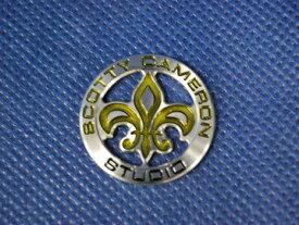【即納】【あす楽対応】スコッティキャメロン フラダリ ボールマーカー SCOTTY CAMERON COIN 2009 FLEUR DE LIS BALL MARKER YELLOW 96169
