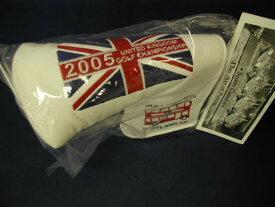 【即納】【あす楽対応】★スコッティキャメロン 全英オープンヘッドカバー 2005年モデル SCOTTY CAMERON 2005年モデル BRITISH OPEN HEADCOVER WHITE 61200