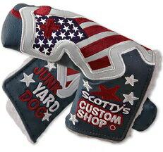 【即納】【あす楽対応】スコッティキャメロン ジャンクヤードドッグ ネービー CAMERON CUSTOM SHOP INDUSTRIAL US FLAG JUNK YARD DOG HEADCOVER NAVY