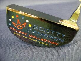 【即納】【あす楽対応】★スコッティキャメロン 2006 ホリデー デルマー3.5 パター SCOTTY CAMERON 2006 HOLIDAY DEL MAR 3.5 PUTTER