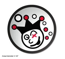 <送料無料代引不可メール便>スコッティキャメロン ジャックポットジョニー ステッカー シルバー SCOTTY CAMERON 2009 JACKPOT JOHNNY STICKER SILVER 96252