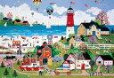 ジェーン ウースター スコット 世界極小2000スモールピース ケープミルフォードの灯台 (49x72cm)(S32-508)[ビバリー] b100