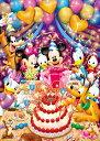 ディズニー ミッキーマウス 108ピース ジグソーパズル ハッピーバースデイ! ホログラムジグソー(18.2x25.7cm)(D-108-961)[テンヨー] ...