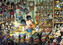 ディズニー ミッキーマウス 500ピース ジグソーパズル ディズニー ミッキーのおもちゃ工房 光るジグソー(35x49cm)(D-500-354)[テンヨー] ...