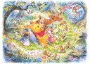 ディズニー くまのプーさん 500ピース ジグソーパズル ディズニー なんとなく しあわせ(35x49cm)(D-500-421)[テンヨー] t100