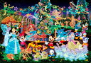 ディズニー オールキャラクター 1000ピース ジグソーパズル ディズニー マジカル イルミネーション ホログラムジグソー (51x73.5cm)(D-1000...