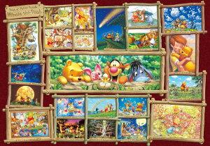 【在庫あり】ジグソーパズル 1000ピース 世界最小 ディズニー くまのプーさん アート集 くまのプーさん(29.7x42cm)(DW-1000-394) テンヨー 梱60cm t104