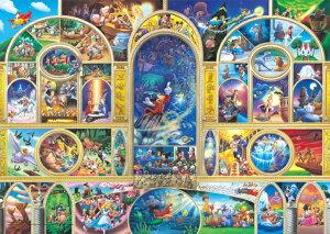 【在庫あり】ジグソーパズル 1000ピース 世界最小 ディズニー オールキャラクタードリーム(29.7x42cm)(DW-1000-405) テンヨー 梱60cm t100