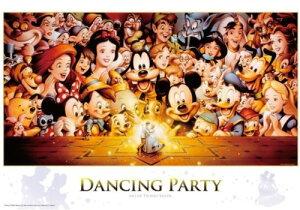 【在庫あり】ジグソーパズル 1000ピース ディズニー Dancing Party(51x73.5cm)(D-1000-434) テンヨー 梱80cm t103