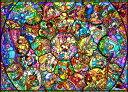 【あす楽】ディズニー オールキャラクター 2000ピース ジグソーパズル ディズニー オールスター ステンドグラス(73x102cm)(D-2000-603)[...