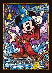 【在庫あり】ジグソーパズル 266ピース ディズニー ミッキーマウス ステンドグラス ステンドアート ぎゅっとシリーズ(18.2x25.7cm)(DSG-266-747) テンヨー 梱60cm t102