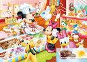 ディズニー 子供向けパズル 幼児 80ピース 子供向けジグソーパズル ミッキーのケーキやさん チャイルドパズル(DC-80-046)[テンヨー] t109