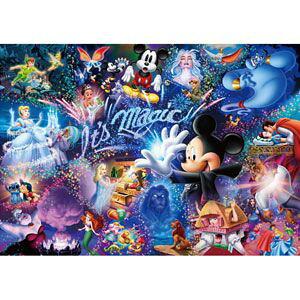 ジグソーパズル 1000ピース ディズニー It's Magic! 世界最小(29.7x42cm)(DW-1000-414) テンヨー 梱60cm t105