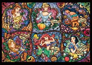 【在庫あり】ジグソーパズル 1000ピース ディズニー プリンセス ディズニー ブリリアントプリンセス 世界最小(29.7x42cm)(DW-1000-433) テンヨー 梱60cm t101