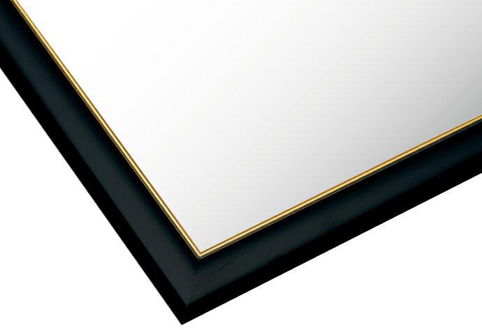 【あす楽】フレーム ゴールドモール木製パネル クロ-107/10-T (51×73.5cm) 10-T(MP107K)[ビバリー] t105