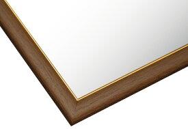 【あす楽】ジグソーパネル専用 ゴールドモール木製パネル ウォールナット-103/10 (50×75cm) 10(MP103L) ビバリー 梱140cm t111