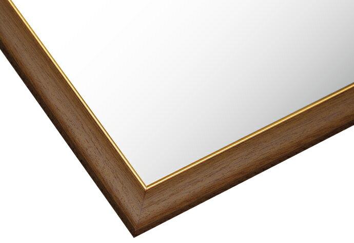 【あす楽】フレーム ゴールドモール木製パネル ウォールナット-107/10-T (51×73.5cm) 10-T(MP107L)[ビバリー] t110