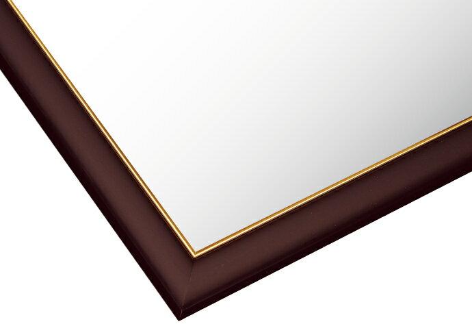 【あす楽】フレーム ゴールドモール木製パネル ブラウン-107/10-T (51×73.5cm) 10-T(MP107T)[ビバリー] 【梱140cm】t113