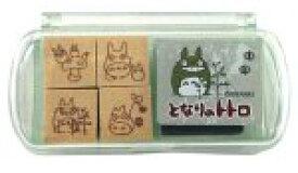 【あす楽】ネコポス_送料込み スタンプ となりのトトロ ミニスタンプセット1 SGM-001(SGM-001) ビバリー b100