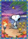 ジグソーパズル 165ピース クリスタルパズル スヌーピー サンセットビーチ (ジグソーパズルタイプ)(CJP-020) ビバリー…