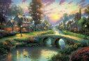 トーマス キンケード 1000ピース ジグソーパズル 幸せな夕暮れ (49x72cm)(61-389)[ビバリー] t101