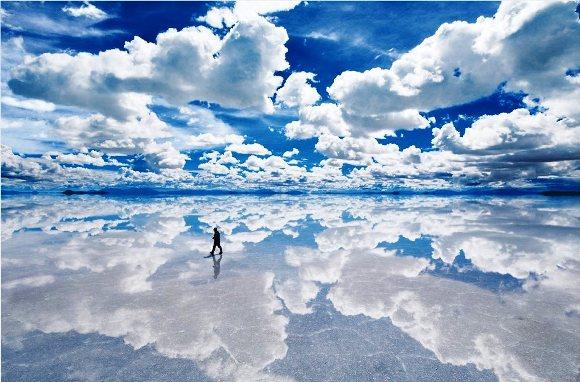 ジグソーパズル 1500ピース 世界の絶景 ウユニ塩湖-ボリビア スモールピース(50x75cm)(15-550) エポック社 梱80cm t103