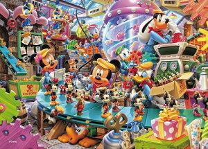 【在庫あり】ジグソーパズル 108ピース ディズニー ミッキーのトイファクトリー(18.2x25.7cm)(D-108-774) テンヨー 梱60cm t102