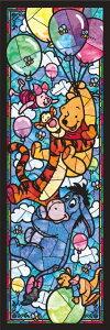 ジグソーパズル 456ピース ディズニー くまのプーさん ステンドグラス ぎゅっとステンドアート (18.5x55.5cm)(DSG-456-722) テンヨー 梱60cm t103