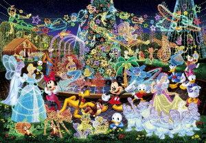 ジグソーパズル 1000ピース ディズニー マジカルイルミネーション 光るジグソー 世界最小 (29.7x42cm)(DW-1000-449) テンヨー 梱60cm t105