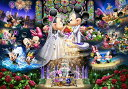 ディズニー ミッキーマウス 1000ピース ステンドアート ディズニー 永遠の誓い〜ウエディング ドリーム〜(51.2x73.7cm)(DS-1000-769)...