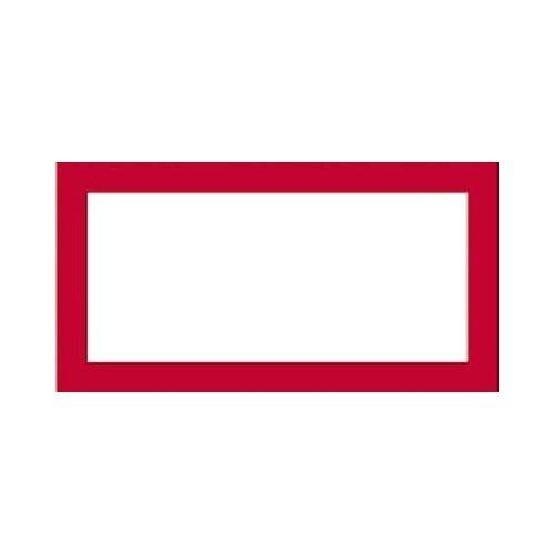 【あす楽】フレーム ジグソーパズルプチロング専用フレーム レッド (10x21.5cm)(-)[やのまん] 【梱60cm】t100