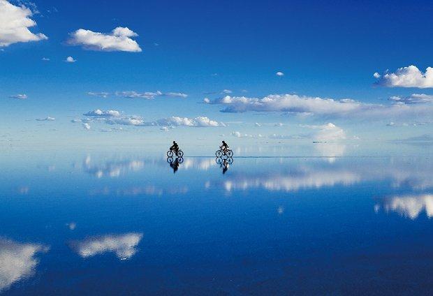 ジグソーパズル 300ピース 世界の絶景 奇跡の湖 ウユニ塩湖−ボリビア(26x38cm)(48-626) アポロ社 梱60cm t101
