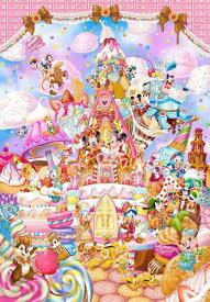 ジグソーパズル 266ピース ディズニー ミッキーのスイートキングダム ピュアホワイト ぎゅっとシリーズ(18.2x25.7cm)(DPG-266-570) テンヨー 梱60cm t101