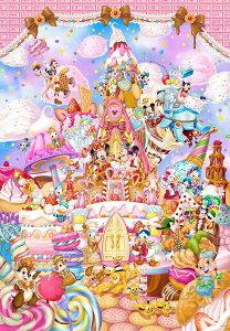 【在庫あり】ジグソーパズル 266ピース ディズニー ミッキーのスイートキングダム ピュアホワイト ぎゅっとシリーズ(18.2x25.7cm)(DPG-266-570) テンヨー 梱60cm t100