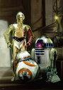 1000ピース ジグソーパズル スターウォーズ STAR WARS エピソード7 R2-D2、C-3PO&BB-8(51x73.5cm)(W-1000-654)...