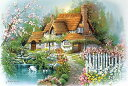 ジグソーパズル 1000ピース アンドレス オルビナス 花香るせせらぎの庭(50x75cm)(1000-773) アップルワン 梱80cm t101