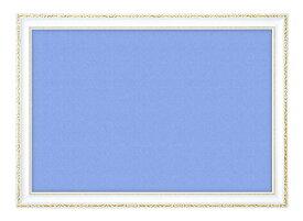 【在庫あり】ジグソーパネル専用 パズルフレーム 木製豪華フレーム アンティークホワイト(50x75cm)(GF103H) ビバリー 梱140cm b100