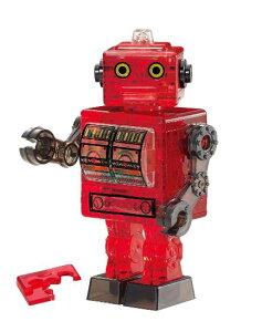 ジグソーパズル 39ピース クリスタルパズル ブリキ ロボット・レッド(50202) ビバリー 梱60cm t101