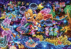 ジグソーパズル 1000ピース ディズニー 星空に願いを…ステンドアート (51.2x73.7cm)(DS-1000-771) テンヨー 梱80cm t104