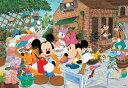 【月間優良ショップ受賞】ディズニー 子供向けパズル 96ピース 子供向けパズル ディズニー みんなでガーデニング こどもジグソーパズル(DK-96-032)[テ...