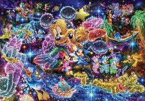 【在庫あり】ジグソーパズル 500ピース ディズニー 星空に願いを… ぎゅっとシリーズ ピュアホワイト (25x36cm)(DPG-500-592) テンヨー 梱60cm t102