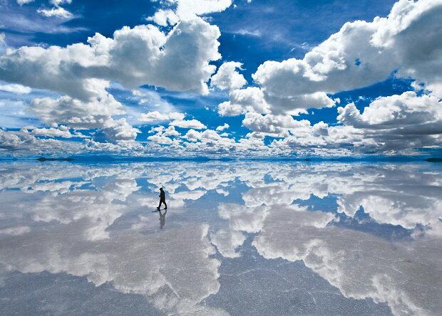 ジグソーパズル 2000ピース ウユニ塩湖—ボリビア 世界最小スーパースモールピース(38x53cm)(54-011) エポック社 梱60cm t101