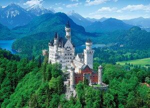 ジグソーパズル 2000ピース 白亜の城 ノイシュバンシュタイン?ドイツ 世界最小スーパースモールピース(38x53cm) (54-014) エポック社 梱60cm t101